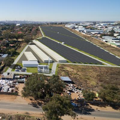 SR ENERGY Urban Solar Farms